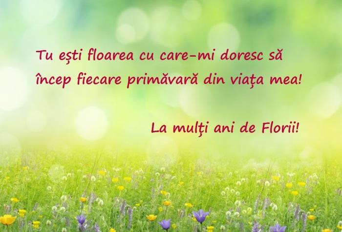 Mesaje de Florii. Urări și felicitări de Florii pentru cei dragi 1