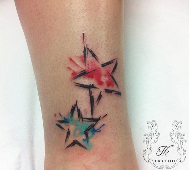 (P) Tatuaje watercolor! Primăvară în nuanțe de acuarela