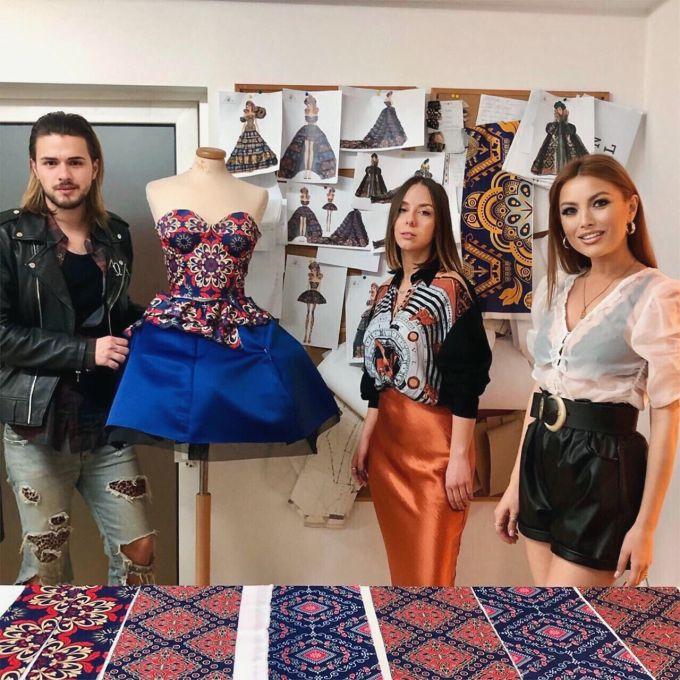 Elena Gheorghe va purta rochii create de ea la concertul de la Sala Palatului