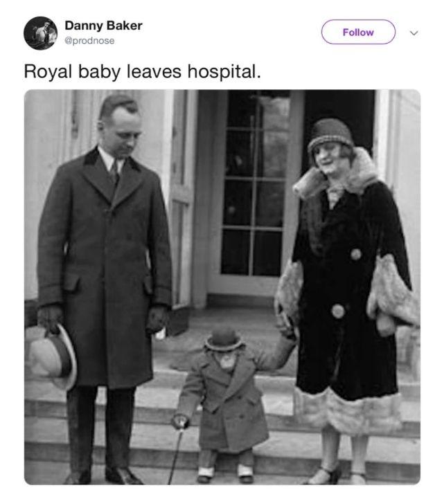Prezentator BBC, concediat din cauza bebelușului regal