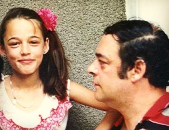 Andreea Raicu, declarații emoționante despre relația cu tatăl său