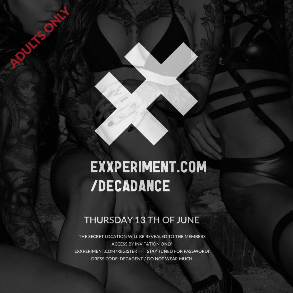 DecaDance, prima petrecere Exxperiment din acest an