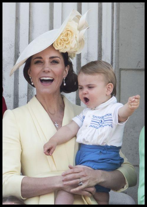 Prințul Louis, tribut adus unchiului său, Prințul Harry FOTO