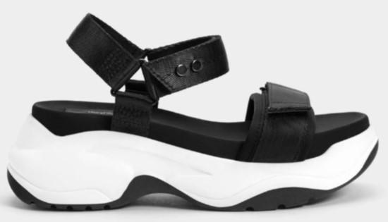sandale bershka cu platforma