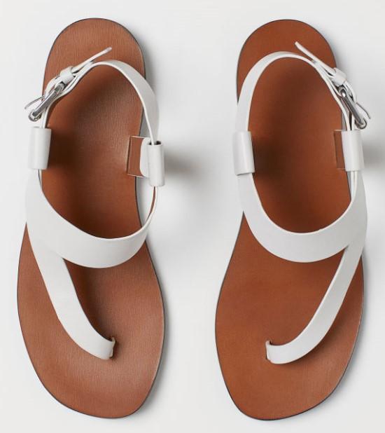 sandale minimaliste din piele H&M