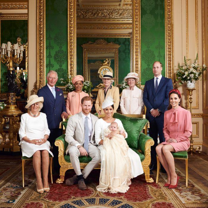 Tributul adus Prințesei Diana în pozele de botez ale lui Archie