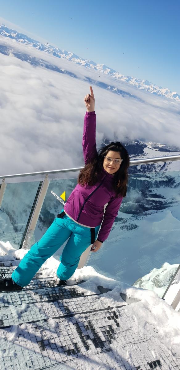 oana tache la schi in austria