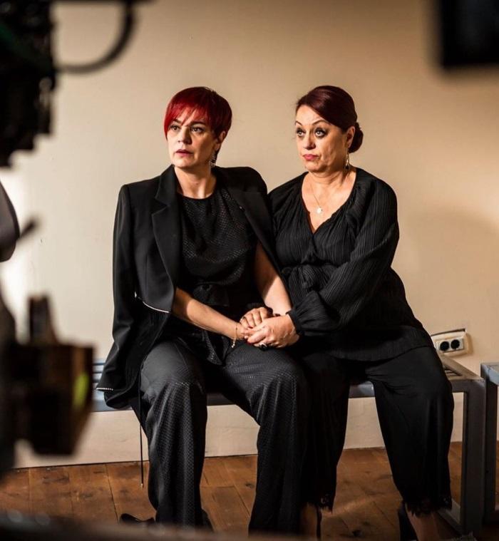 Adriana Trandafir si Maia Morgenstern in sacrificiul
