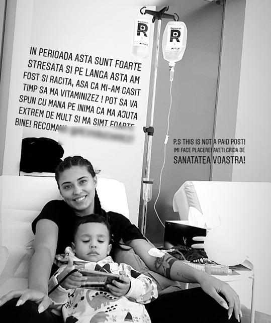 """Antonia, mesaj de pe patul de spital: """"Aveţi grijă de sănătatea voastră"""""""