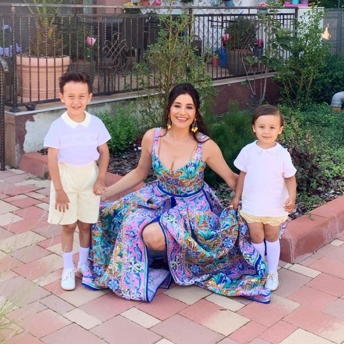 Claudia Patrascanu si copiii