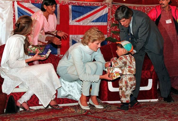 Printesa Diana in Pakistan