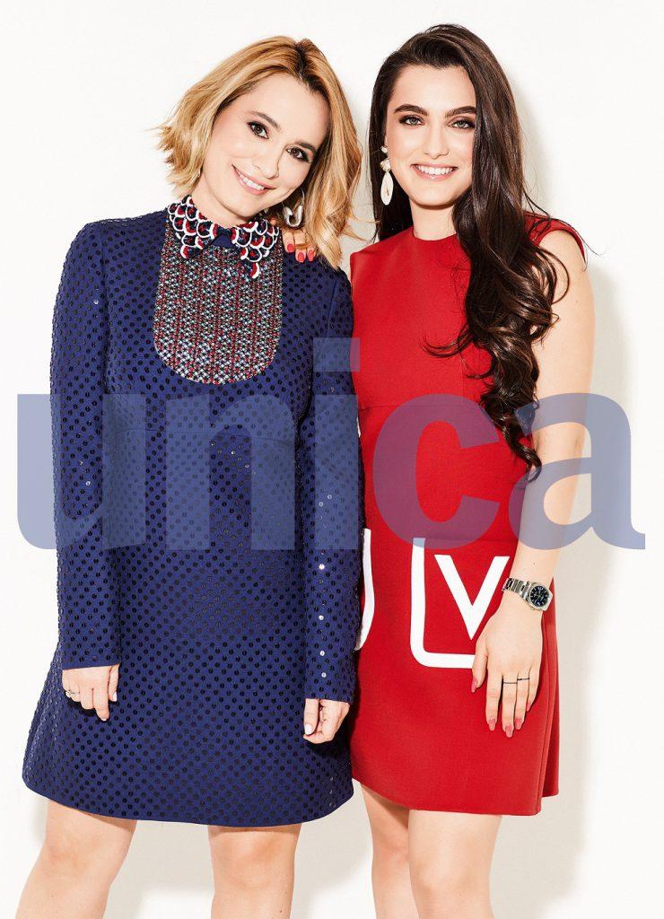 Showdown exclusiv: Andreea Esca și Alexia Eram, pe coperta revistei Unica decembrie 2019