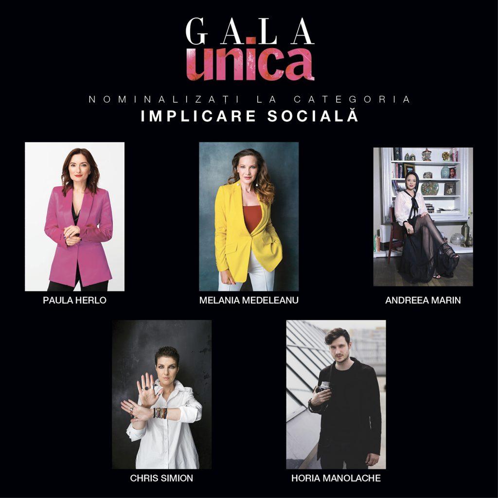 Dăm startul la voturile pentru Gala Unica 2019! Votează-ți preferații din cele nouă categorii