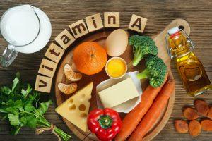 Alimente în care se găsește vitamina A