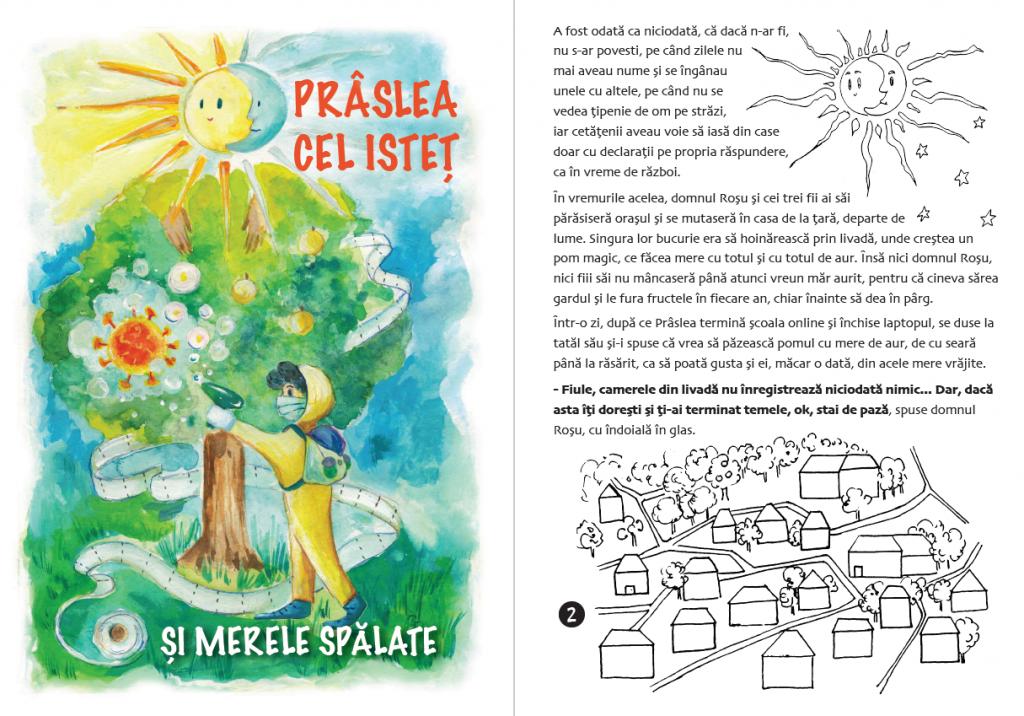 """EXCLUSIV Cum să oferi o vară cât mai normală copiilor tăi cu proiectul """"#stămacasă cu eroii din povești"""""""