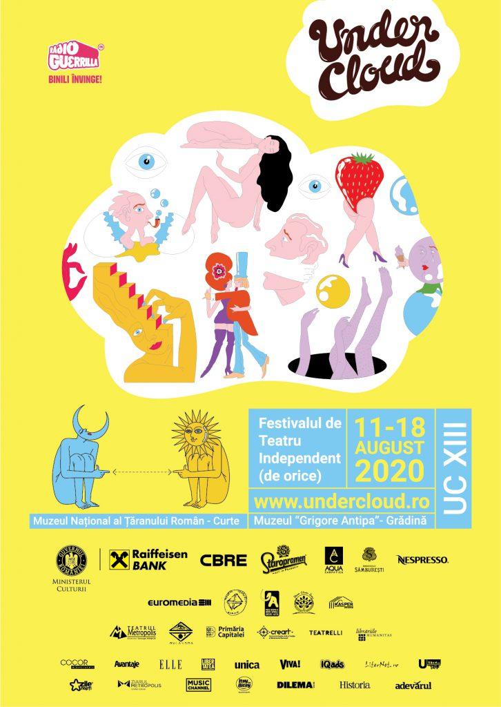 (P) UNDERCLOUD, Festivalul de Teatru Independent de Orice începe marți, 11 august