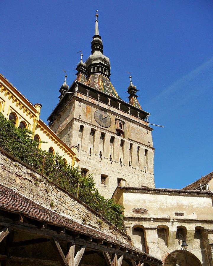 Cetatea Sighișoara, cetate medievală încă locuită în Europa